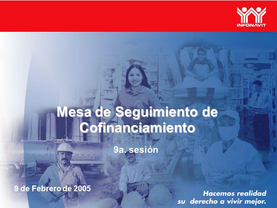Mesa de Seguimiento de Cofinanciamiento 9a. sesión 9 de Febrero de 2005
