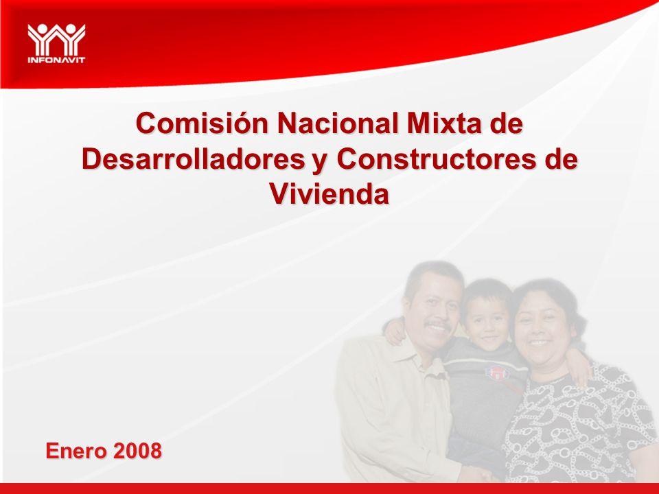 Comisión Nacional Mixta de Desarrolladores y Constructores de Vivienda Enero 2008