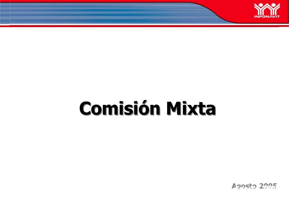 Agosto 2005 Comisión Mixta