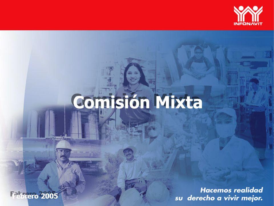 Febrero 2005 Comisión Mixta