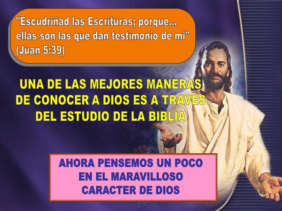 En 1 Juan 4:8 dice: En 1 Juan 4:8 dice: El que no ama, no ha conocido a Dios; porque Dios es amor Es amor Es amor