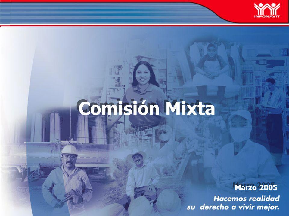 Marzo 2005 Comisión Mixta