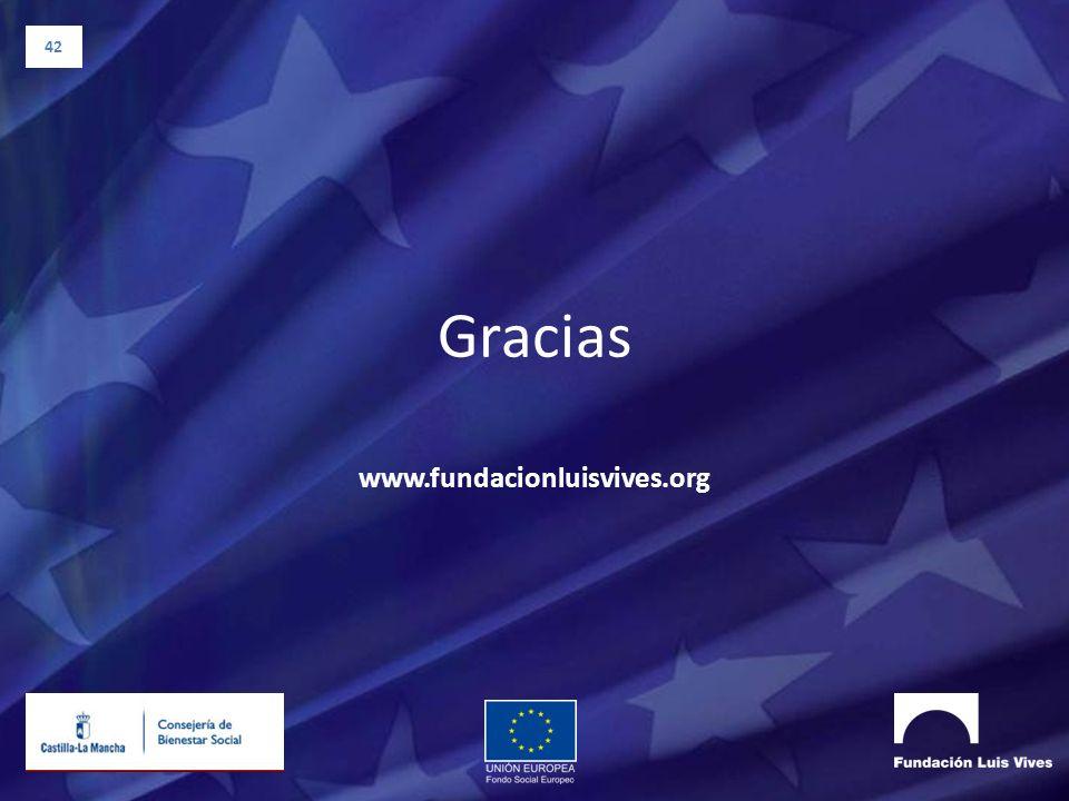42 Gracias www.fundacionluisvives.org