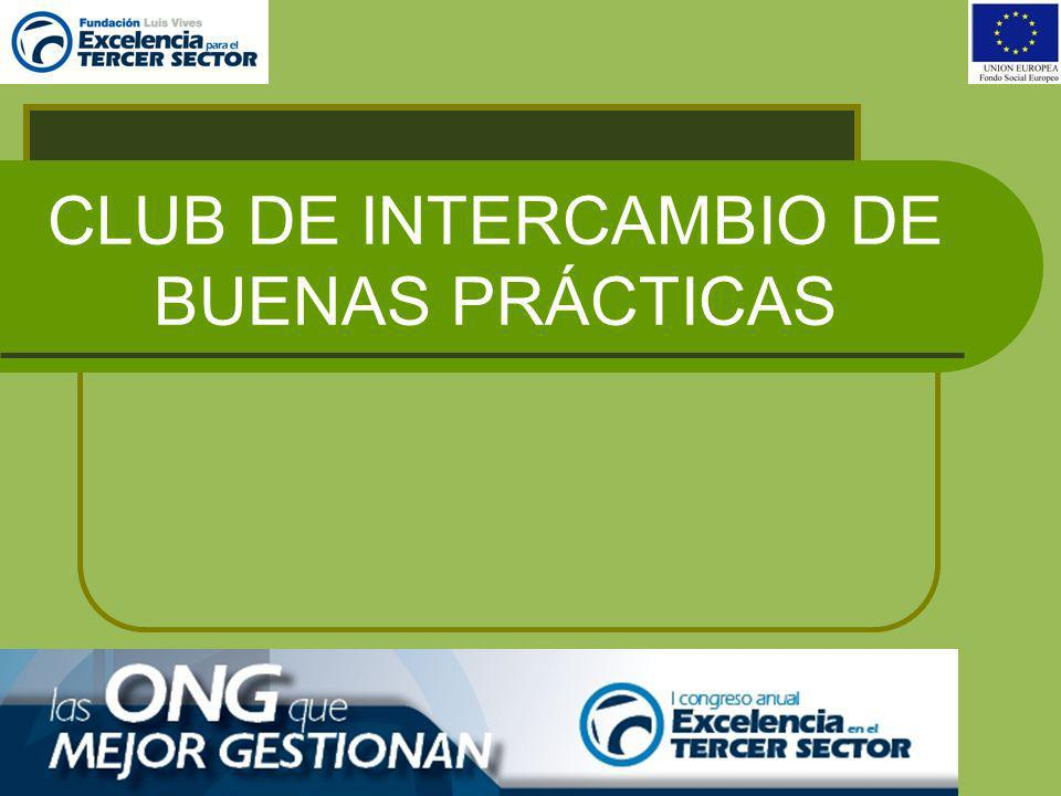 CLUB DE INTERCAMBIO DE BUENAS PRÁCTICAS- METODOLOGÍA DE FUNCIONAMIENTO EN PLENO (todas las entidades miembro del Club: 2 AL AÑO 1º PLENO: 1º SEMESTRE (Junio-Julio).