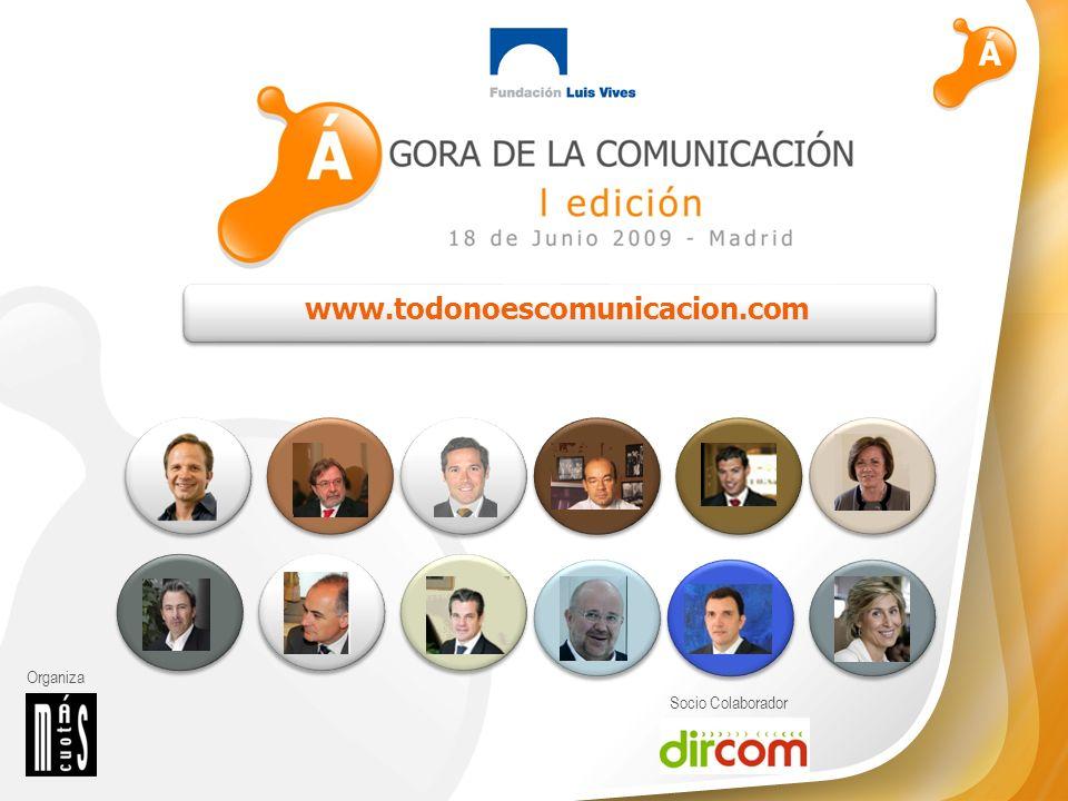 Organiza Socio Colaborador El valor de la comunicación o La comunicación es clave para conseguir que la sociedad en general identifique y asocie una marca, concepto o entidad a determinados valores.