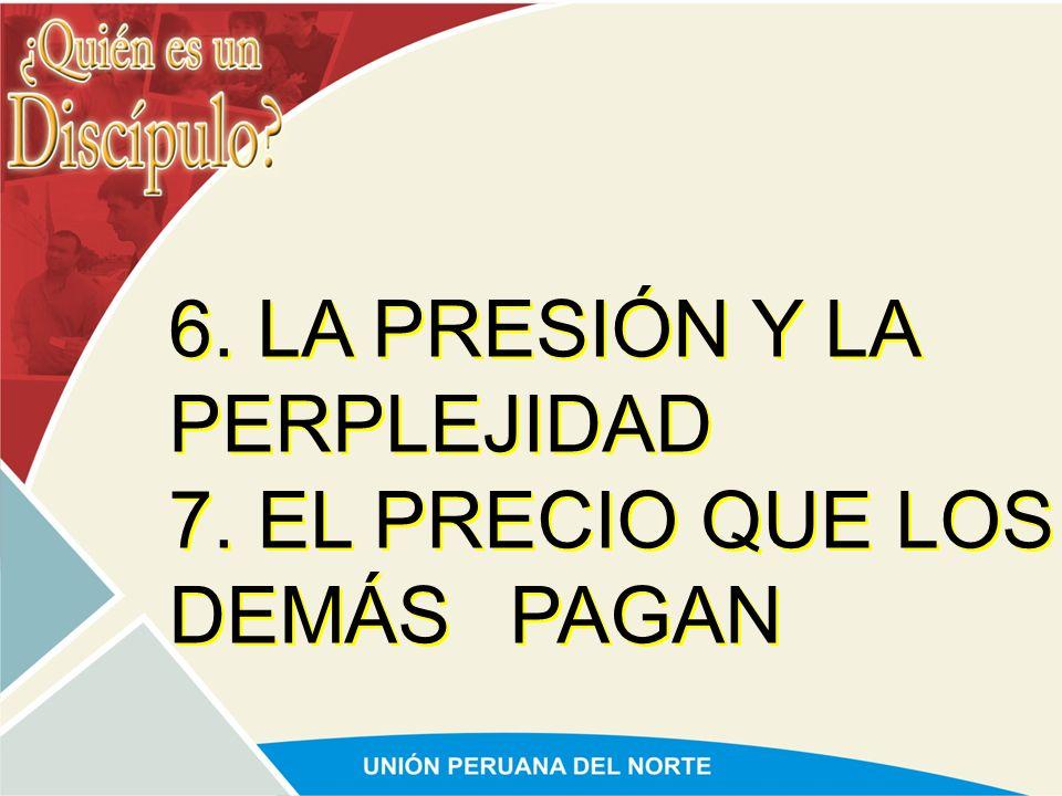 1. EL SACRIFICIO PERSONAL 2. LA SOLEDAD 3. LA FATIGA 4. LA CRÍTICA 5. EL RECHAZO 1. EL SACRIFICIO PERSONAL 2. LA SOLEDAD 3. LA FATIGA 4. LA CRÍTICA 5.