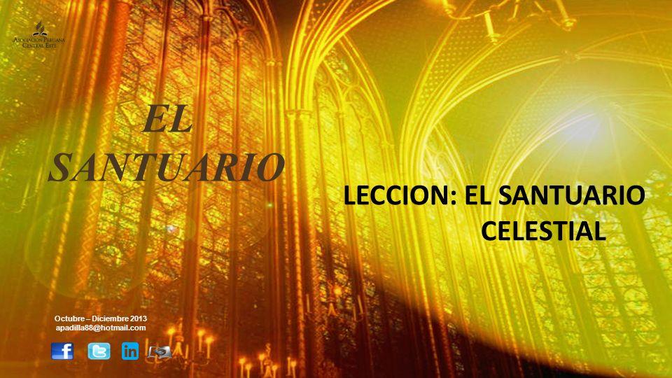 INTRODUCCION Concepto CCE: El Santuario celestial demuestra el principio Emanuel [Dios con nosotros], revela el plan de salvación y nos invita a un compañerismo íntimo con él (adoración)