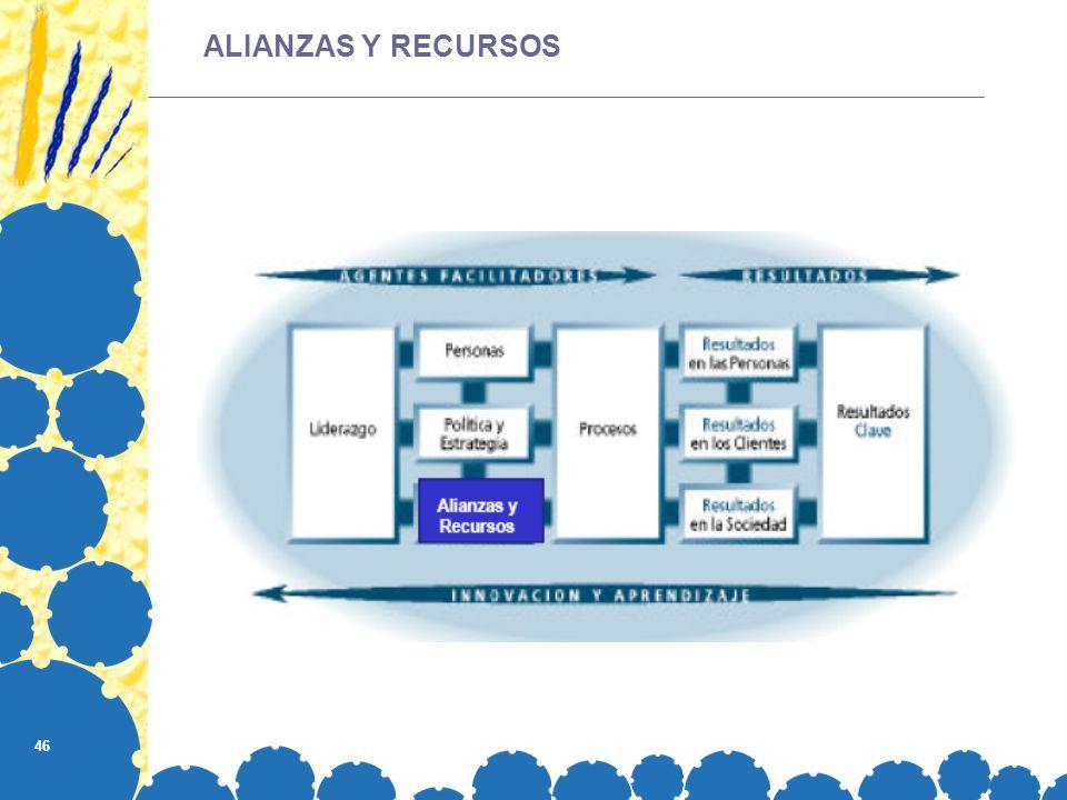 46 ALIANZAS Y RECURSOS