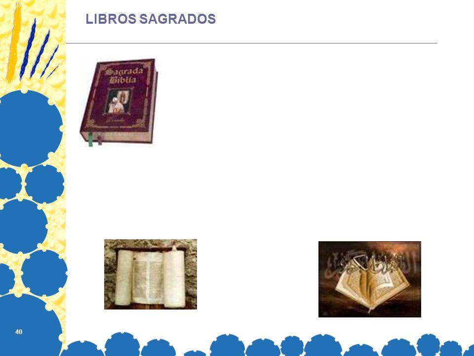 40 LIBROS SAGRADOS