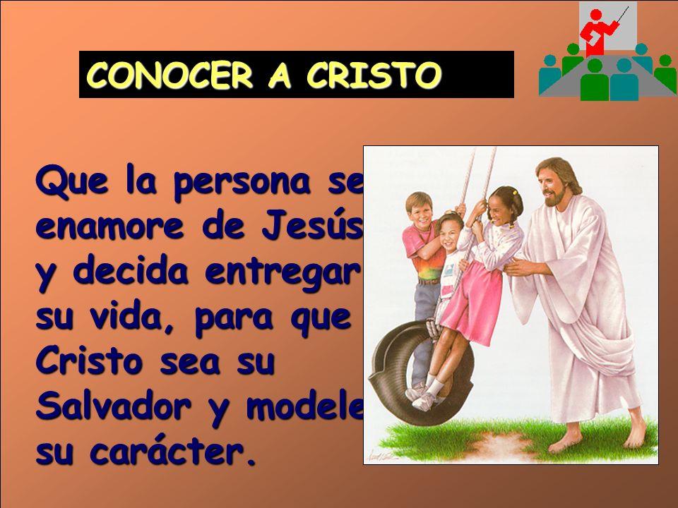 TESTIMONIO Muestra los beneficios que Cristo trae a la vida de quienes son sus seguidores. Hace que en el corazón de la persona nazca el deseo de tene