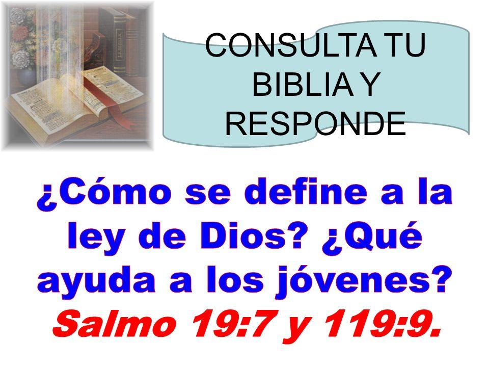 La lógica conclusión La conclusión de todo el discurso oído es ésta: 1) Teme a Dios y 2) guarda sus mandamientos, pues esto es el todo del hombre.