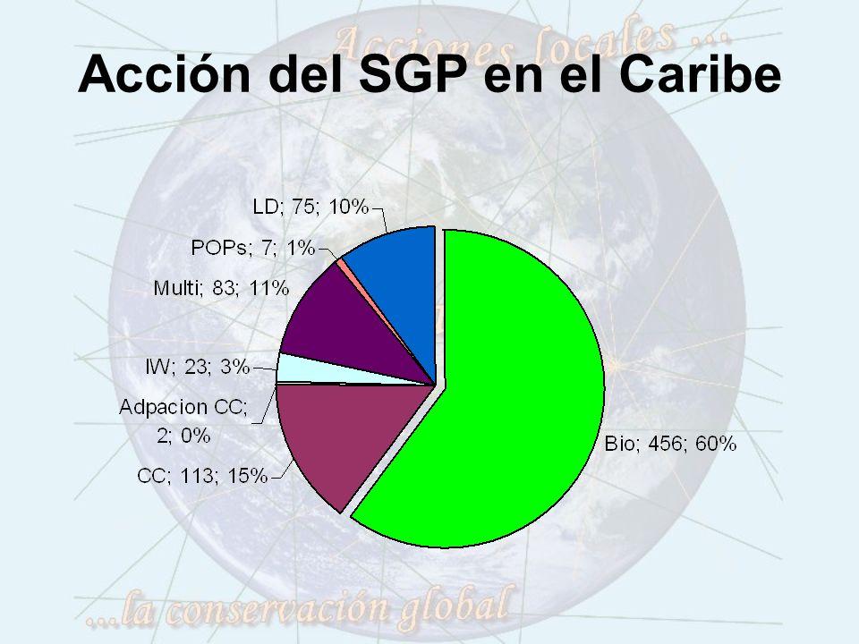 Acción del SGP en el Caribe