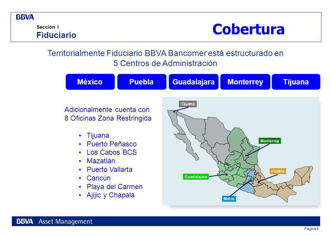 Página 16 índice Sección I Fiduciario BBVA Bancomer Sección II Preferred Customer s Unit Sección III Banca de Empresas y Gobierno Reunión Nacional de Infraestructura Turística