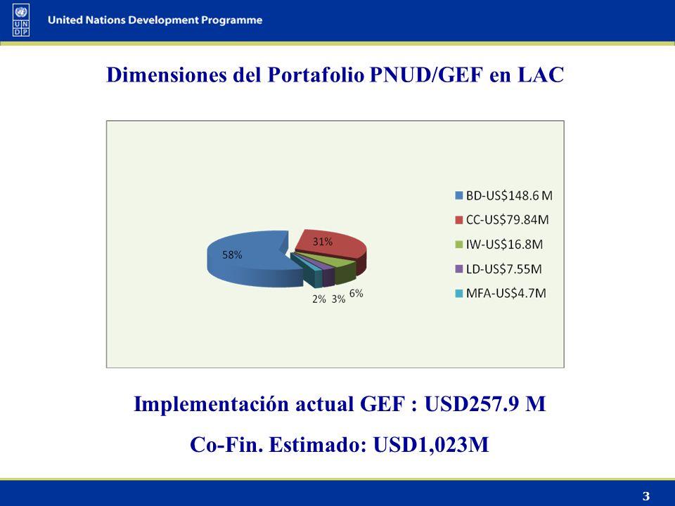 4 Distribución del portafolio por sub-región
