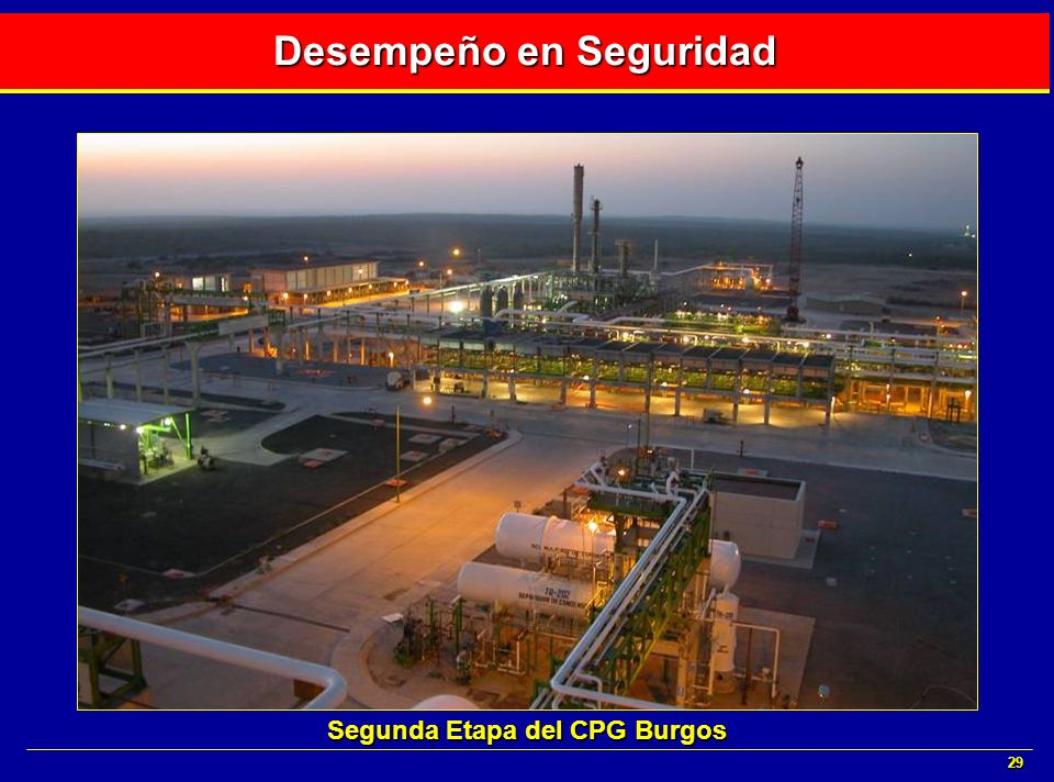 29 Desempeño en Seguridad Segunda Etapa del CPG Burgos