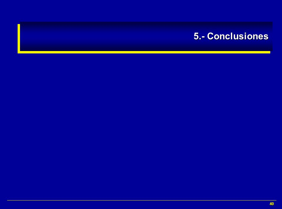 40 5.- Conclusiones