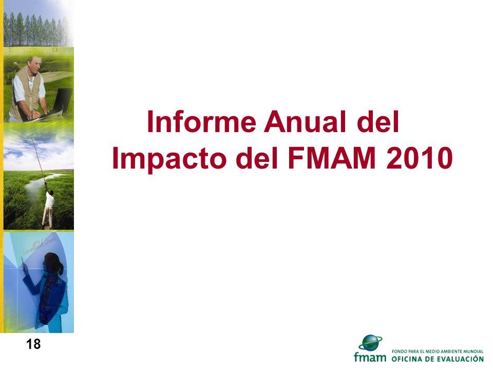 Informe Anual del Impacto del FMAM 2010 18