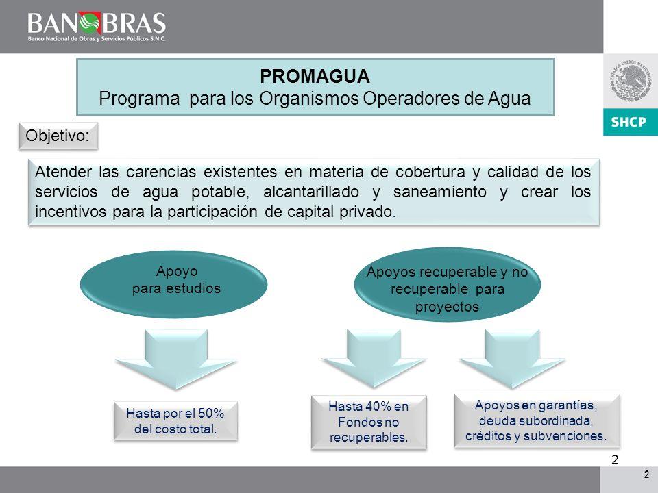 1 1 Descripción del PROMAGUA en el marco del FONADIN