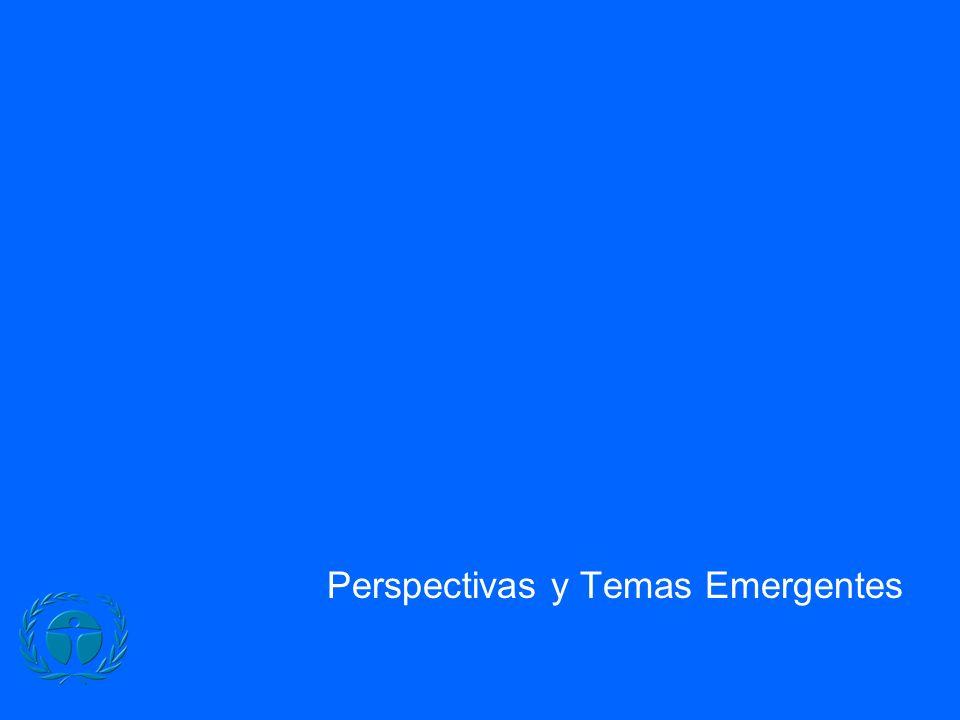 Perspectivas y Temas Emergentes