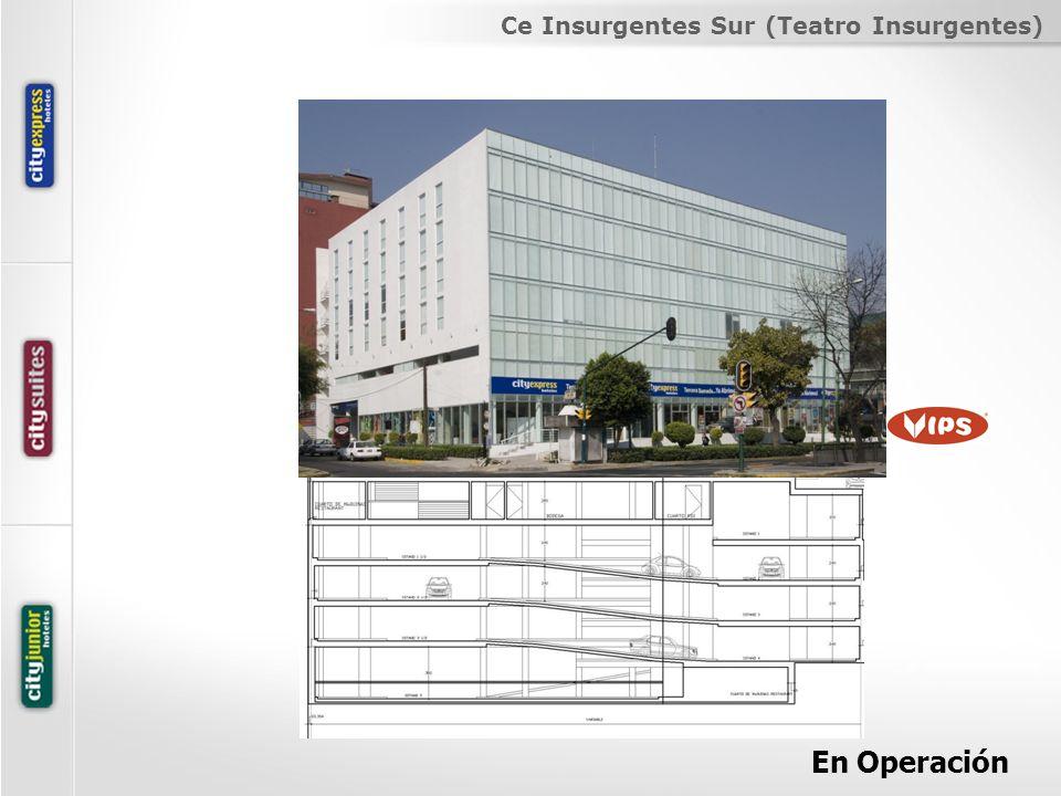 Ce Insurgentes Sur (Teatro Insurgentes) En Operación