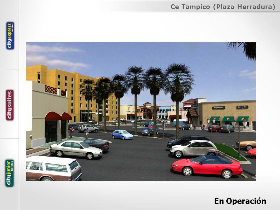 Ce Tampico (Plaza Herradura) En Operación