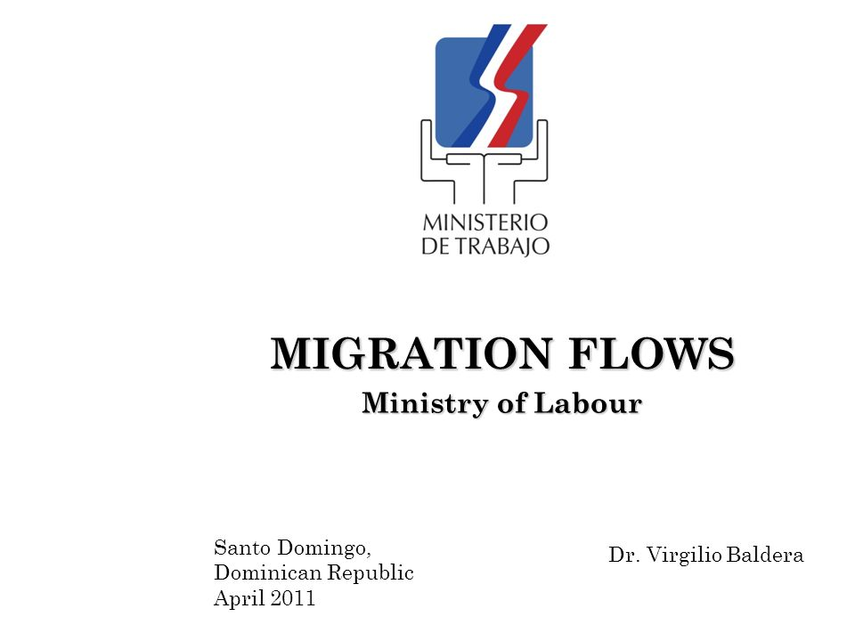 HISTORICAL BACKGROUND The Dominican Republic and the United Kingdom of Spain signed an Agreement on regulation and regularization of labour migration flows on December 17, 2001.