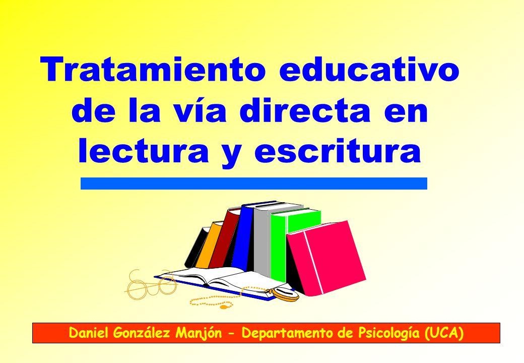 Daniel González Manjón - Departamento de Psicología (UCA)
