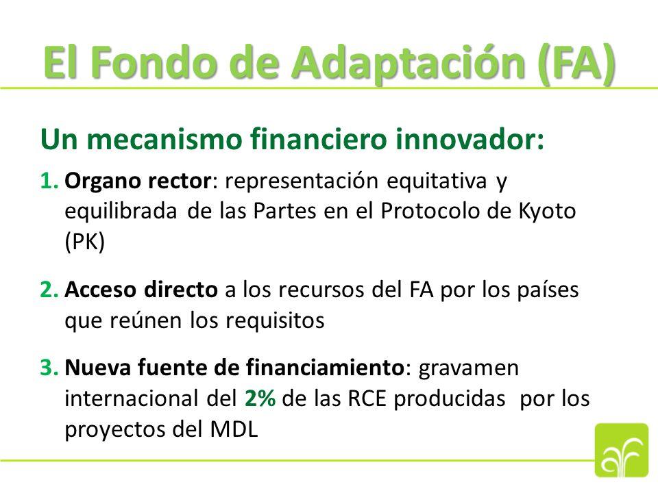 Acceso al financiamiento del FA (2) Las EIN y EIM deberán: a.Cumplir las normas fiduciarias establecidas por la JFA: -Gestión e integridad financieras -Capacidad institucional -Transparencia, facultades de autoinvestigación y medidas de lucha contra la corrupción b.Asumir plena responsabilidad por la administración general de los proyectos y programas c.Asumir responsabilidades financieras, y de seguimiento y presentación de informes.
