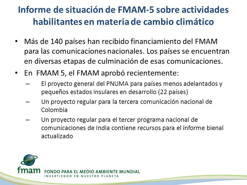 Respaldo del FMAM para actividades habilitantes en materia de degradación de la tierra Es la primera vez que el FMAM respalda actividades habilitantes en el marco de la CNULD Los países elegibles pueden obtener acceso a una suma de hasta por US$150.000 para implementar actividades habilitantes en el período de FMAM-4.