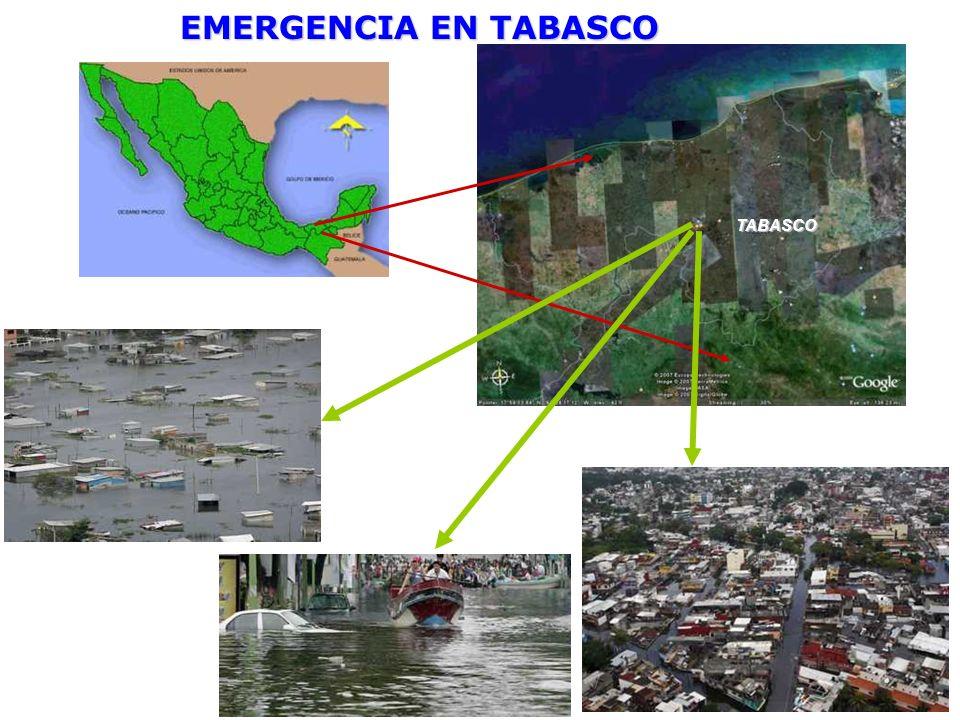 TABASCO EMERGENCIA EN TABASCO
