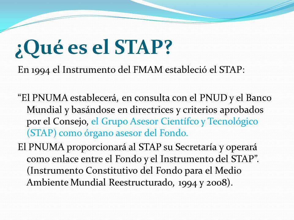 ¿Qué es el STAP.