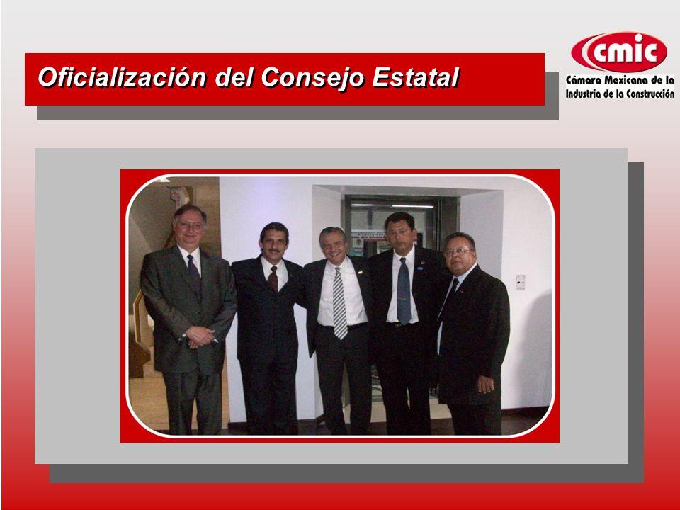 Oficialización del Consejo Estatal