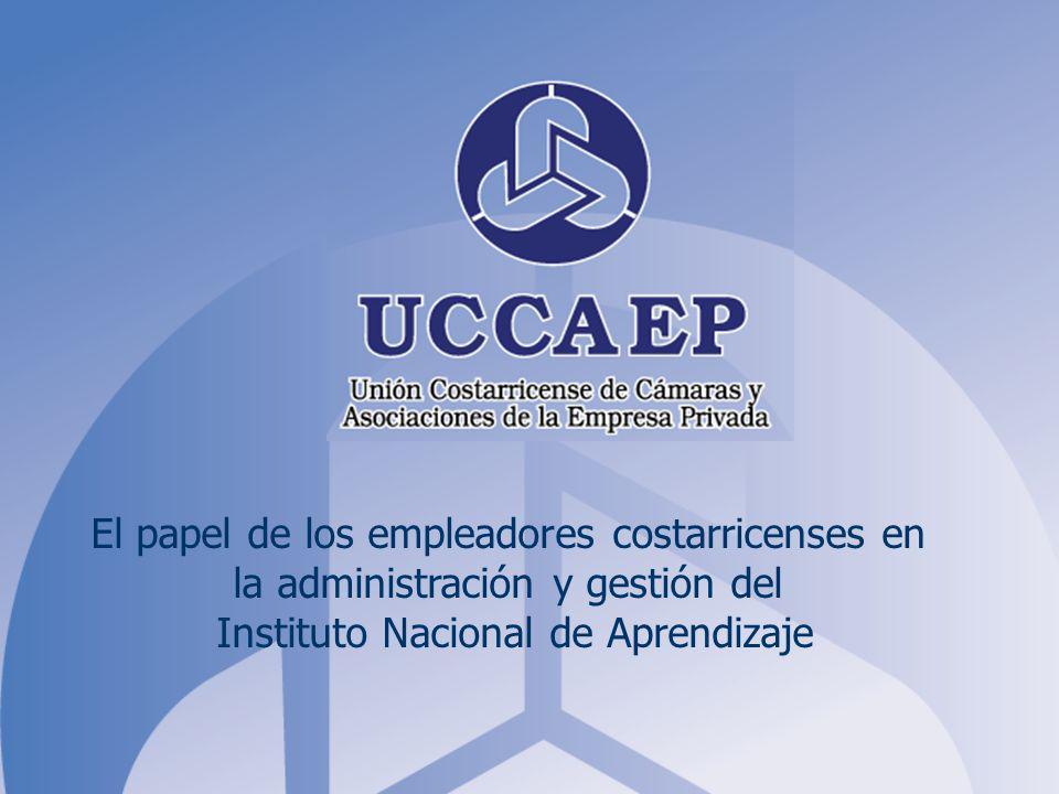 El papel de los empleadores costarricenses en la administración y gestión del Instituto Nacional de Aprendizaje