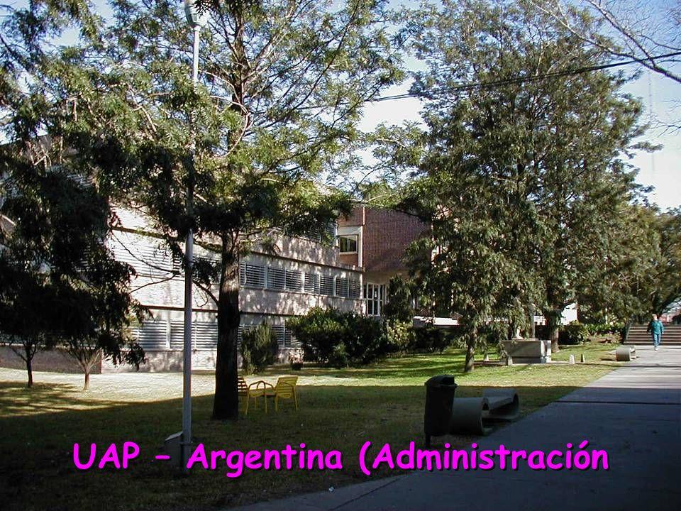 UAP – Argentina (Administración