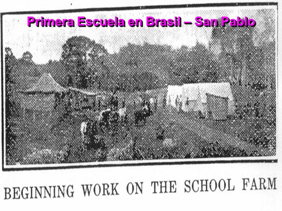 Primera Escuela en Brasil – San Pablo