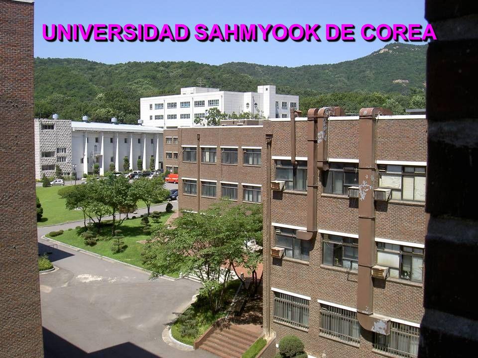 UNIVERSIDAD SAHMYOOK DE COREA
