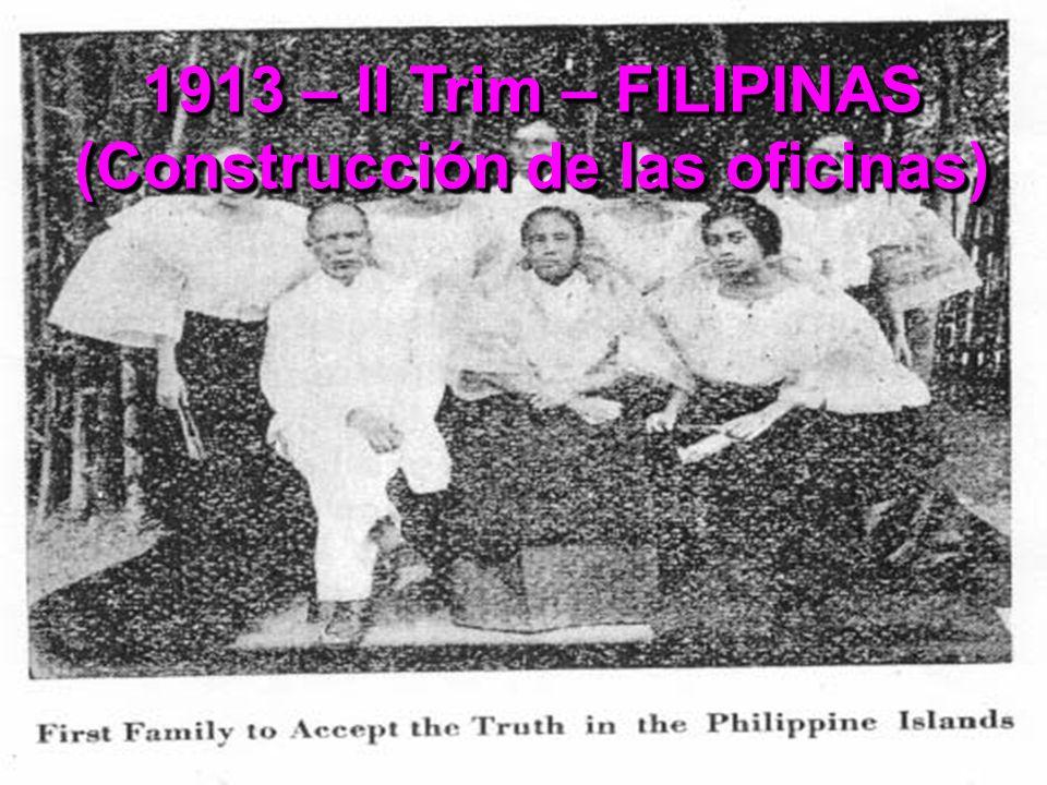 1913 – II Trim – FILIPINAS (Construcción de las oficinas)