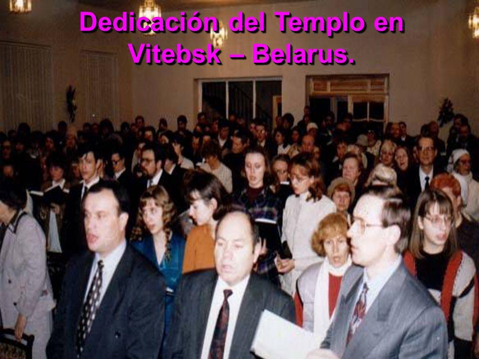 Dedicación del Templo en Vitebsk – Belarus.