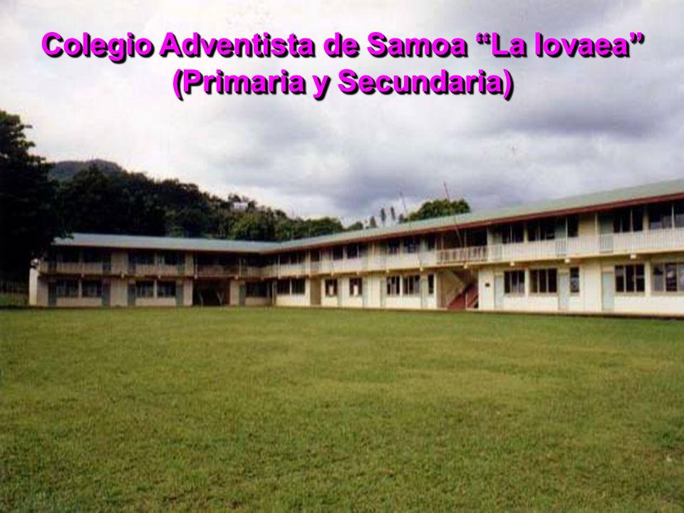 Colegio Adventista de Samoa La Iovaea (Primaria y Secundaria)