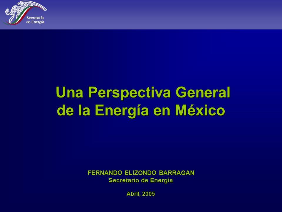 Secretaría de Energía 42 200320042005 2003 2005 2004 Miles de millones de pies cúbicos diarios Fuente: PIRA Energy Group, febrero 2005.