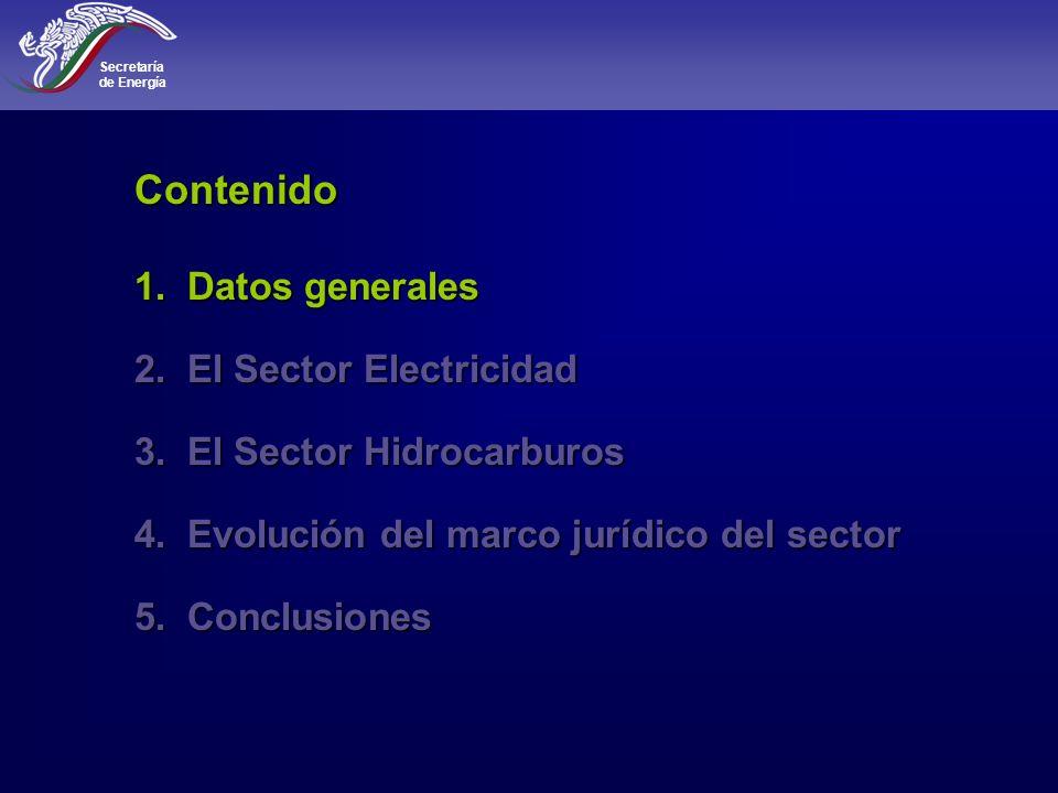 Secretaría de Energía 4 MaderaCarbón Petróleo y gas natural Dominio de las fuentes de energ í a Fuente: U.S.