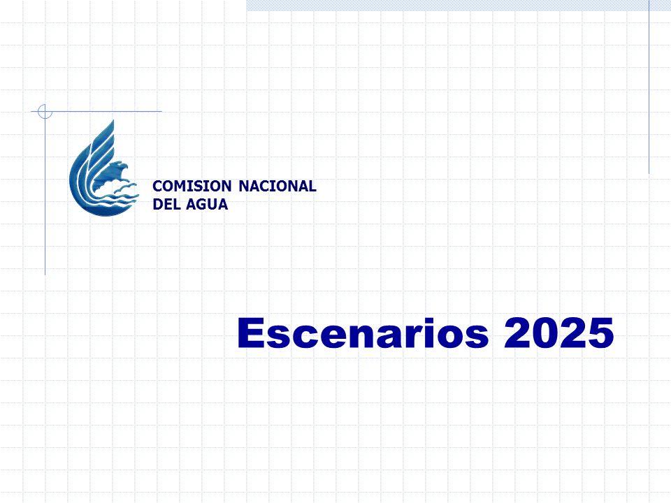Escenarios 2025 COMISION NACIONAL DEL AGUA