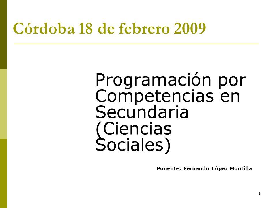 42 Competencias Básicas (I) D.231/2007. - Artículo 6.