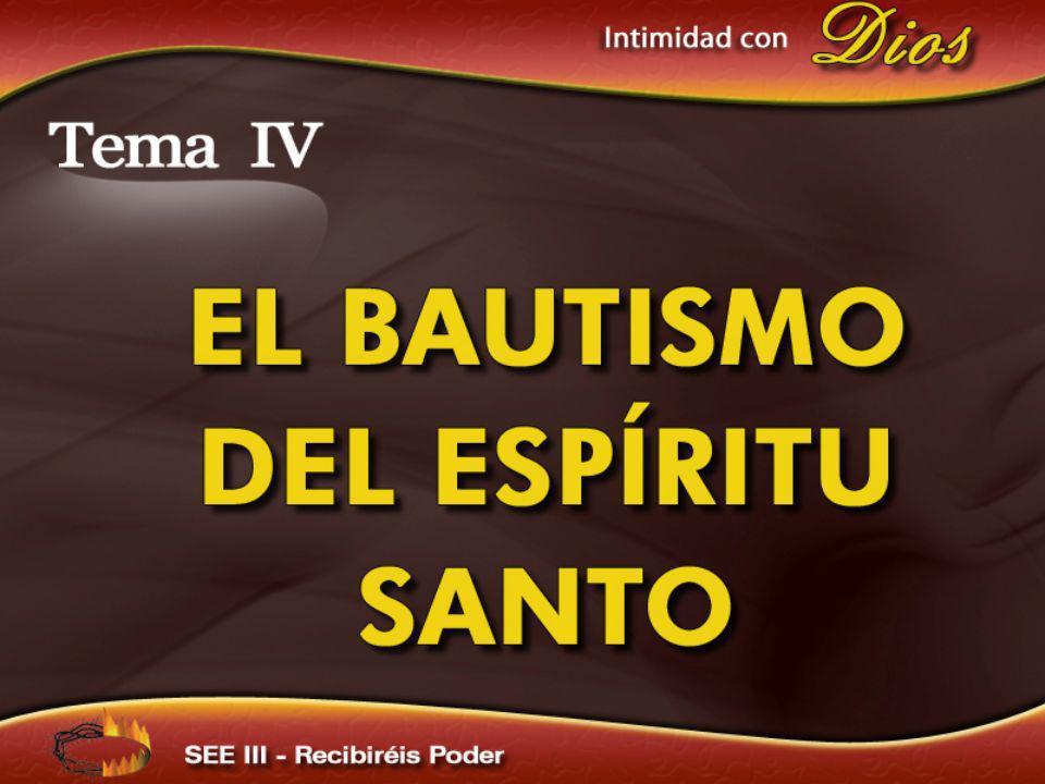 Tres conceptos sobre el bautismo del Espíritu Santo: Algunos identifican el bautismo del Espíritu Santo con el bautismo del agua Otros lo identifican con la conversión