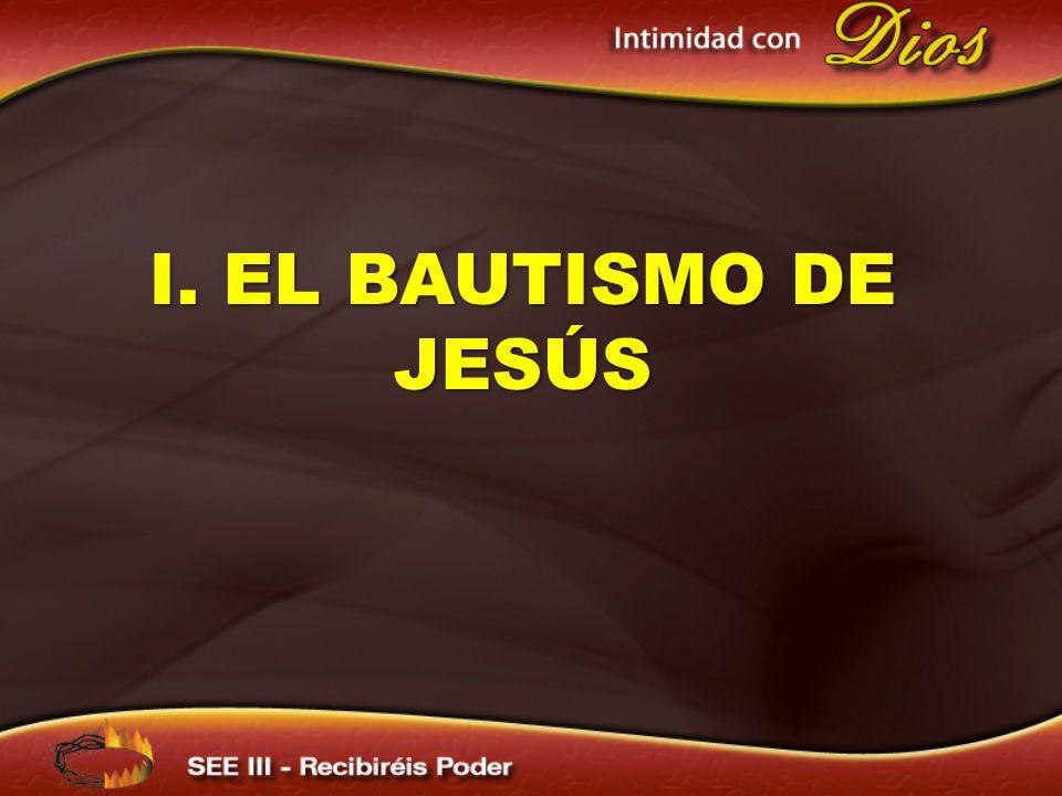 El bautismo del Espíritu Santo es una experiencia que se inicia con el bautismo del agua.