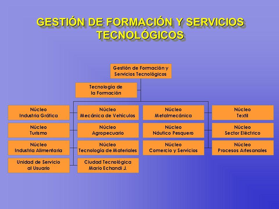 GESTIÓN DE FORMACIÓN Y SERVICIOS TECNOLÓGICOS