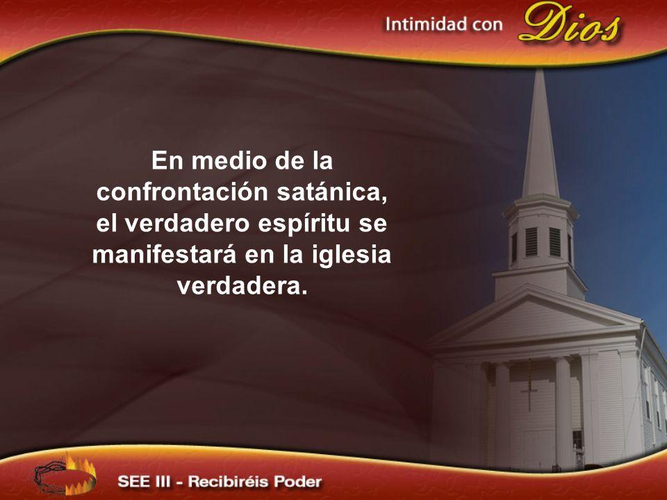 ¿Por qué no tener hambre y sed del don del Espíritu, puesto que es el medio por el cual hemos de recibir poder.