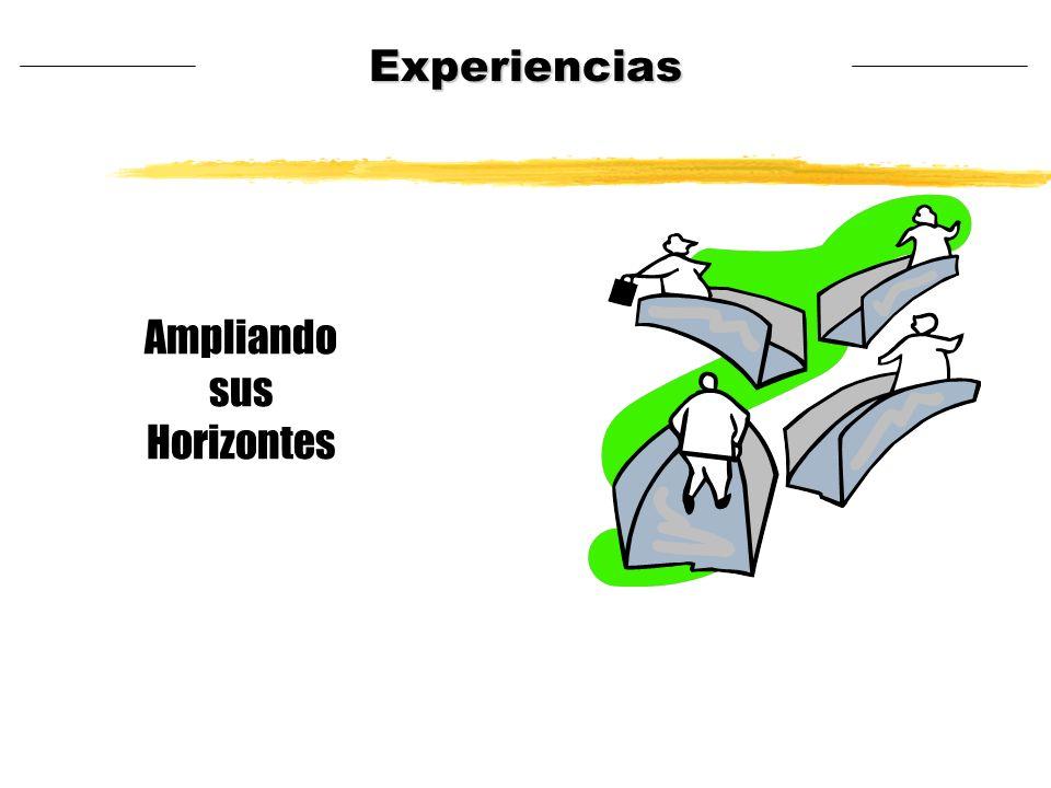 Ampliando sus Horizontes Experiencias