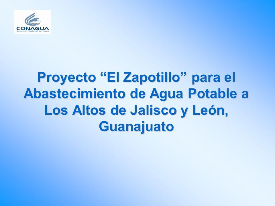 Proyecto El Zapotillo para el Abastecimiento de Agua Potable a Los Altos de Jalisco y León, Guanajuato