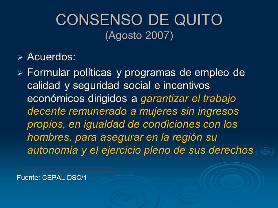 Tasa de ocupación en el sector informal 2005 2006 % Diferencia 2005: 1.8 2006: 1.6